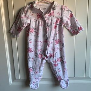 3 for $12 Baby Girl Floral Onesie